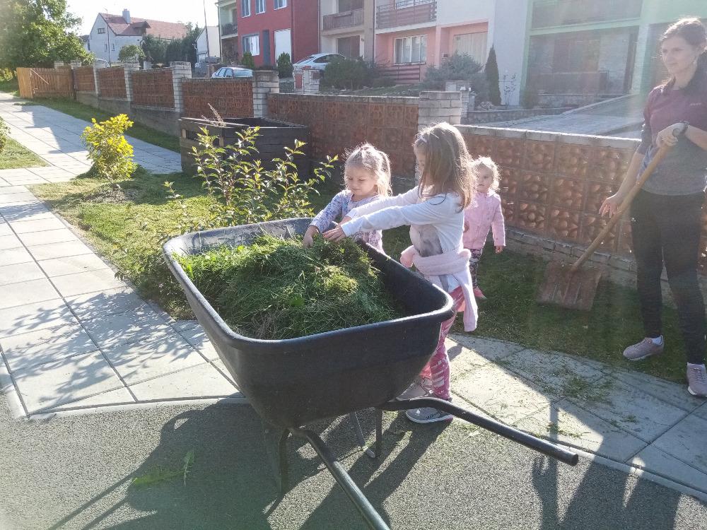 Údržba zahrady 09.2021